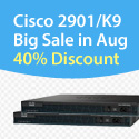 Cisco 2901/K9, Big Sale in Aug