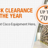 "Router-switch.com to Release the Event of ""Big Cisco Clearance Sale of the Year"""