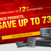 12th Anniversary Celebration, Top 100 Hot-Sale Cisco Devices with Big DISCOUNT at Router-switch.com