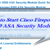 How to Start Cisco Firepower 9300 ASA Security Module?
