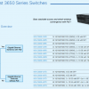Cisco Switches-Comparison and Solutions