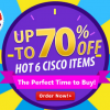 Limited-Time 'Countdown Deals' on Cisco Items