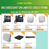 Weekly Deals—Big Discounts on Limited Cisco Items