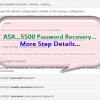 How to Recover the Password for Your ASA?