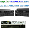 """The """"Always On"""" Cisco ISR 4000 Will Replace the Popular Cisco 1900, 2900, and 3900 Series"""