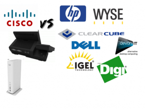 Cisco and its competitors