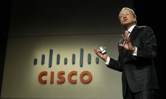 """Where we buy is where we grow""---Cisco CEO"