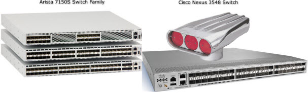 Cisco Nexus 3548 and Arista 7150: Dueling Ultra-low-latency Switches