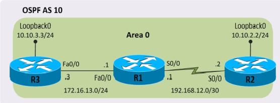 Configuring OSPF on Cisco Routers