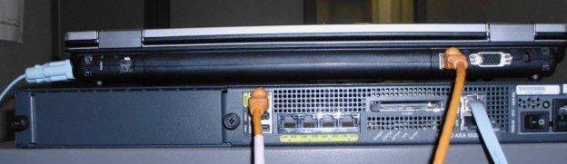 serial console connection-Cisco ASA