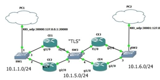 Using OSPF Point-to-MultiPoint on Ethernet03