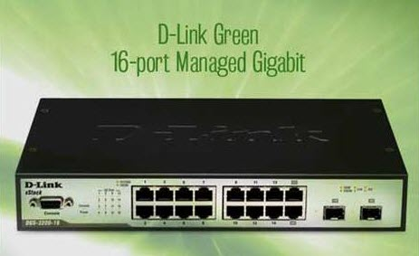 d-link green gigabit switch