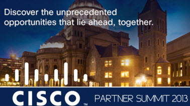 Cisco Partner Summit 2013