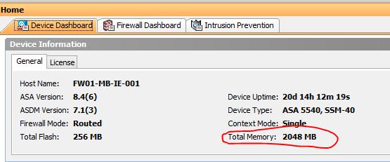 ADSM memory Upgrading ASA 5500 Series02
