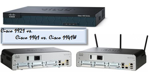 Cisco 1900 Models Comparison