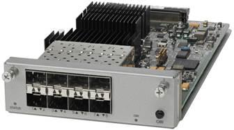 8 x 10 Gigabit Ethernet Port Uplink Module