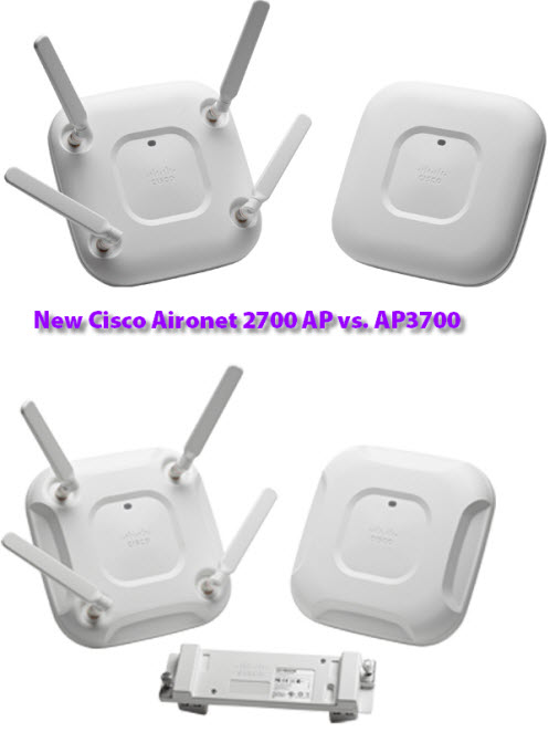 Cisco Aironet 2700 AP vs. AP3700