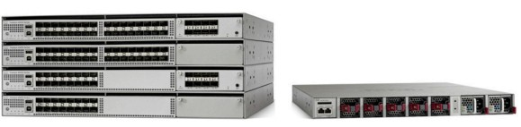 Cisco Catalyst 4500-X Series Switch Family with and without Optional 8-Port Pluggable