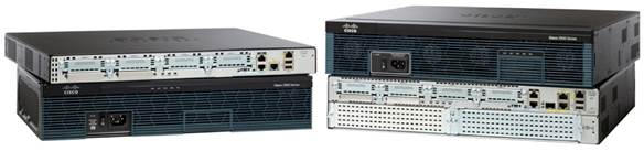 Cisco 2900 Series Integrated Services Routers-Model Comparison