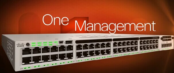 One Management-Cisco 3850
