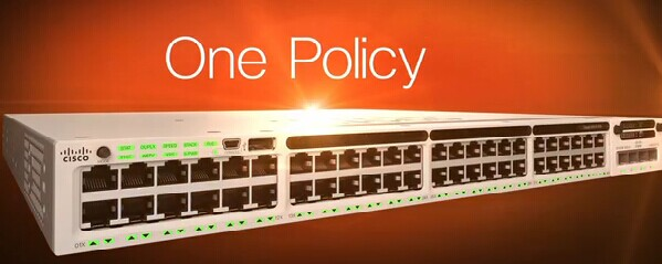 One Policy-Cisco 3850 Switches