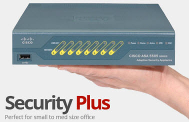 Cisco ASA 5505-Security Plus