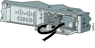 AC-Power Supply with Power Cord Retainer