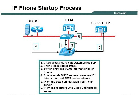 Cisco IP Phone Starup Process