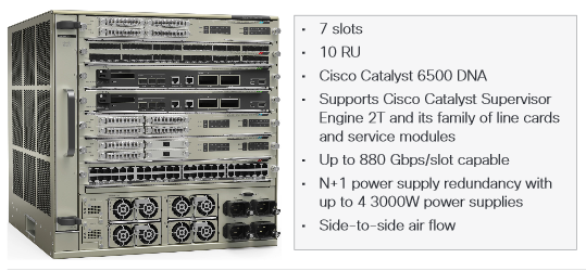 Cisco Catalyst 6807-XL Chassis