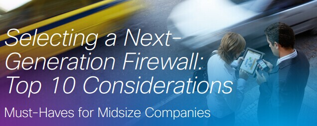 Selecting a Next-generation Firewall