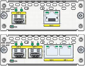 Cisco 1- and 2-Port Gigabit Ethernet WAN Network Interface Modules