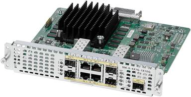 Cisco 4-Port High-Density Gigabit or 1-Port 10 Gigabit Ethernet WAN Service Module