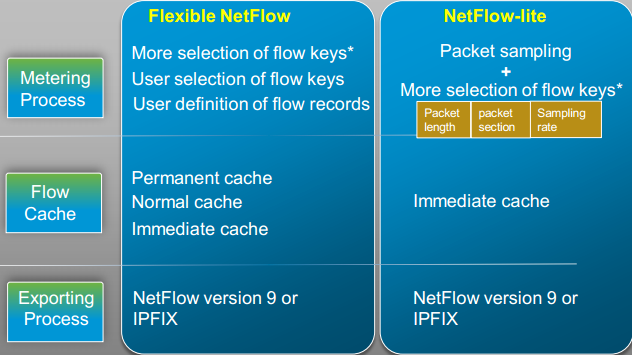 Building upon the flexibility of Flexible NetFlow