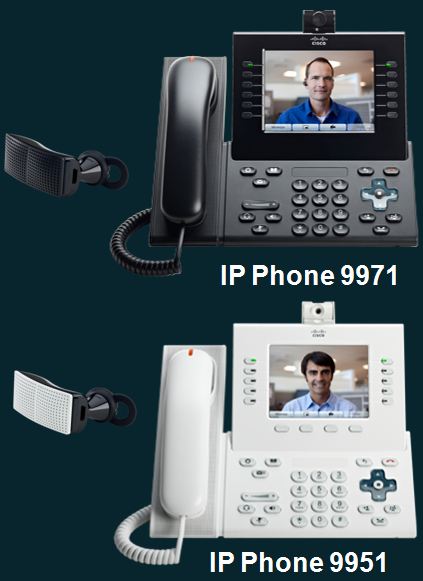 Cisco Unified IP Phone 9900 Series