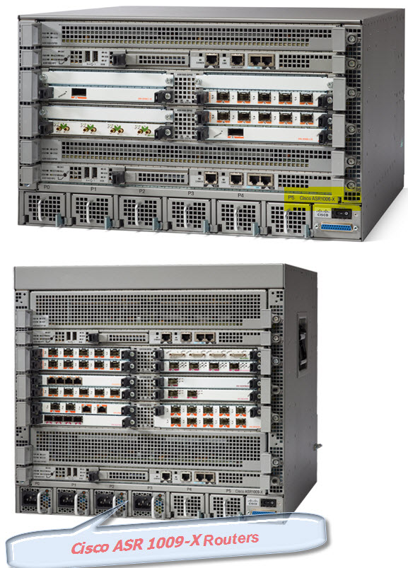 Cisco ASR 1006-X,ASR 1009-X routers