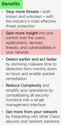 Cisco Firepower Next-Generation Firewall-Benefits