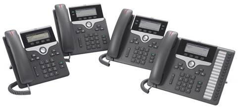 Cisco IP Phone 7800 Series-