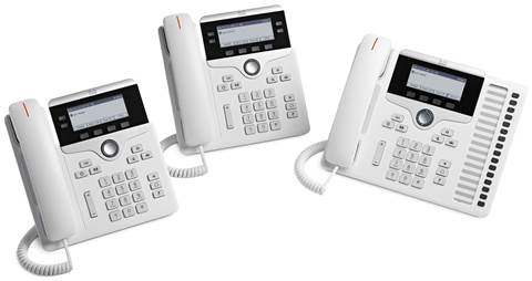 Cisco IP Phone 7800 Series-white