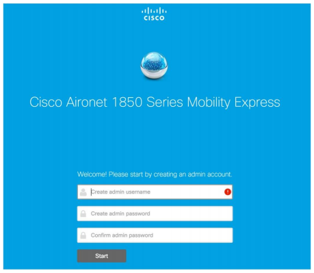 Open Cisco Wireless app and select Provisioning tab