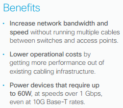 Benefits-Cisco Catalyst Multigigabit Technology