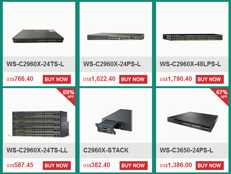 Save More on These Cisco Items