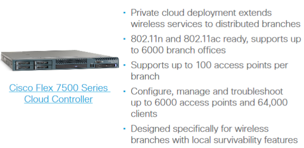 Cisco Wireless Controllers for Multisite Deployments