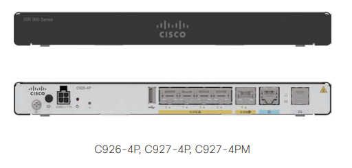 Cisco ISR 900 Series-Highlights, Platform Specs, Licenses