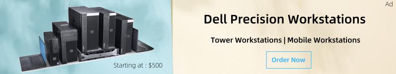 Order Dell precision workstations