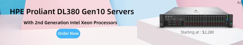 configure and buy hpe dl380 gen10