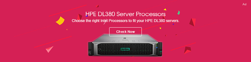 hpe dl380 processor