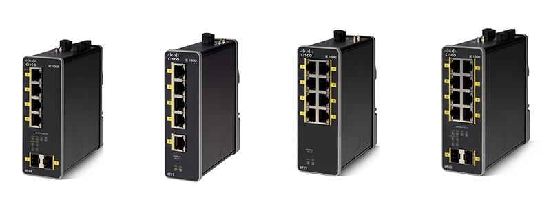 Cisco IE1000 switches