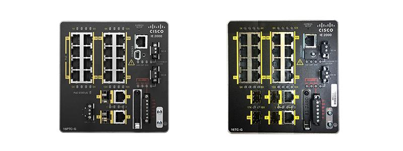 Cisco IE2000 switches