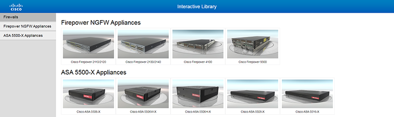 Cisco Interactive 3d