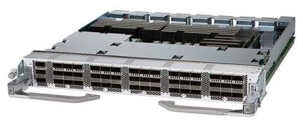 cisco 48-port QSFP28 100 GbE line card